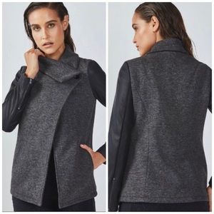Fabletics | NWT Gray Tunnel Vision Milano Coat  XL
